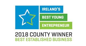 ireland best young enterpreneur badge