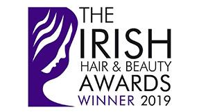 the irish hair & beauty awards winner badge